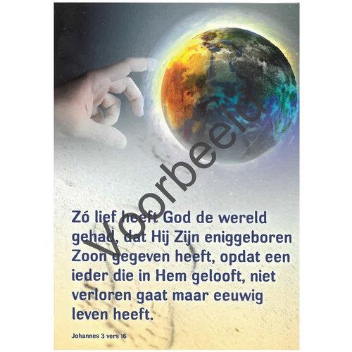 Traktaat: Zo lief heeft God de wereld gehad ... Johannes 3:16