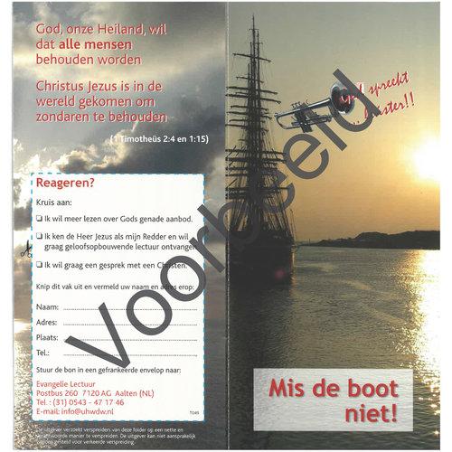 Traktaat: Mis de boot niet