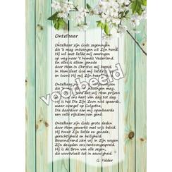 Ansichtkaart met gedicht 82-05