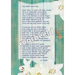 Ansichtkaart met gedicht 82-06