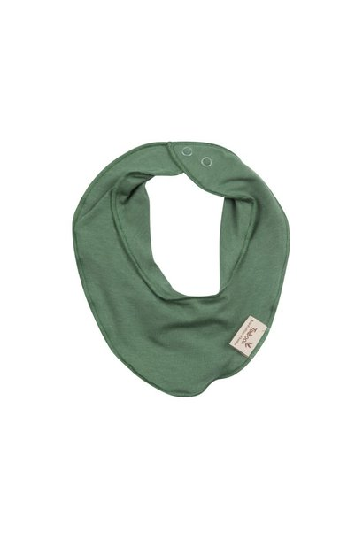 Baby bandana aspen green
