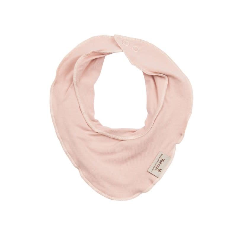 Baby bandana misty rose-1
