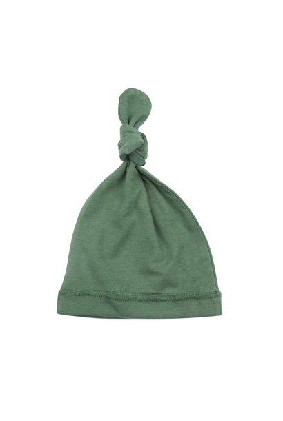 Newborn mutsje aspen green