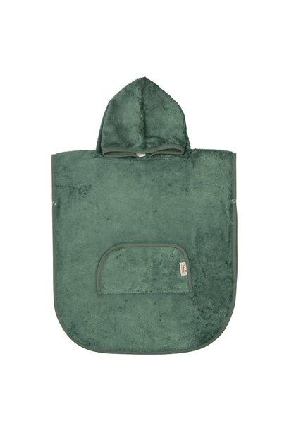 Poncho aspen green