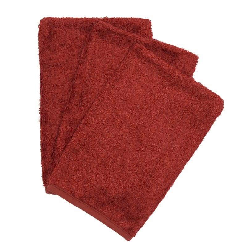 Set van 3 washandjes rosewood-1