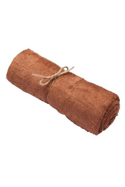 Handdoek hazel brown