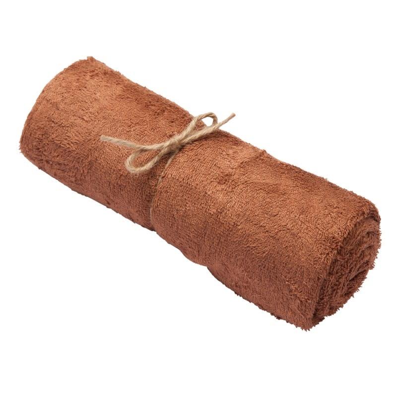 Handdoek hazel brown-1