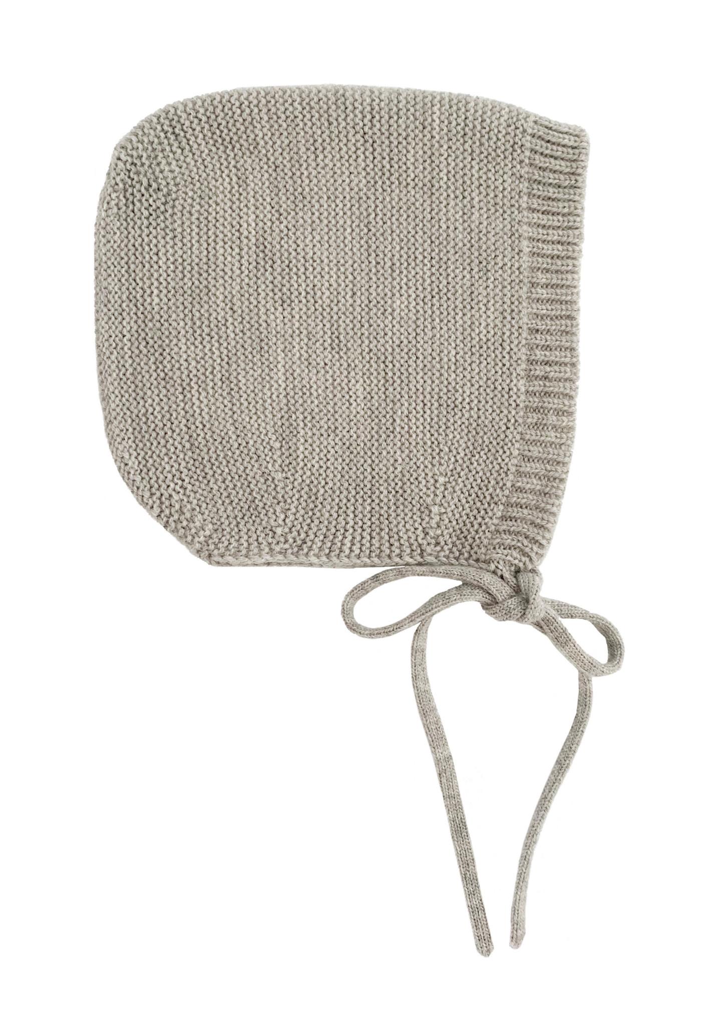 Bonnet dolly grey melange-1