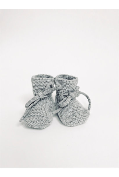 Booties grey melange