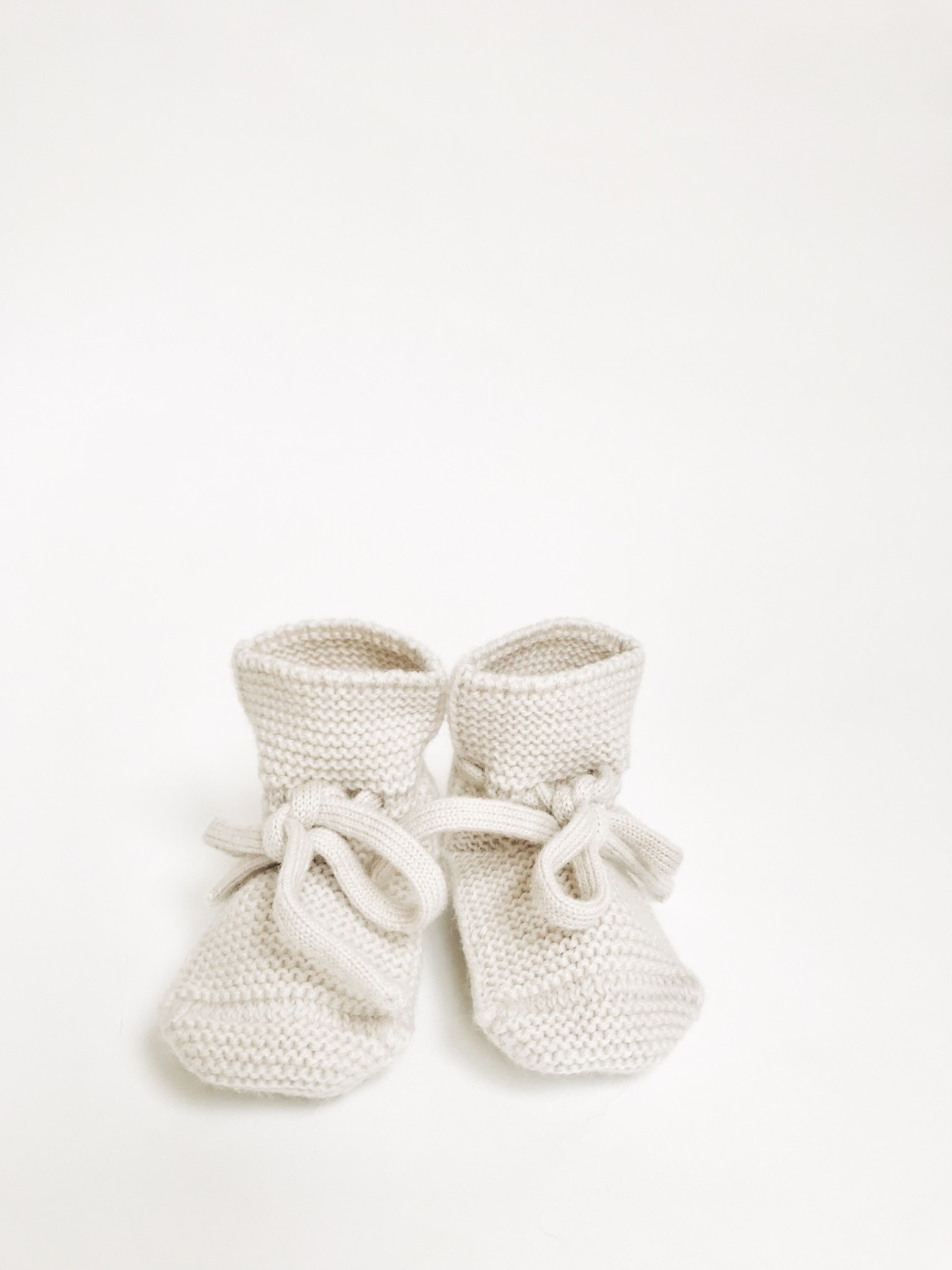 Booties off-white-1