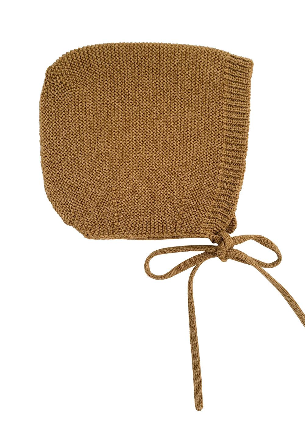 Bonnet dolly mustard-4