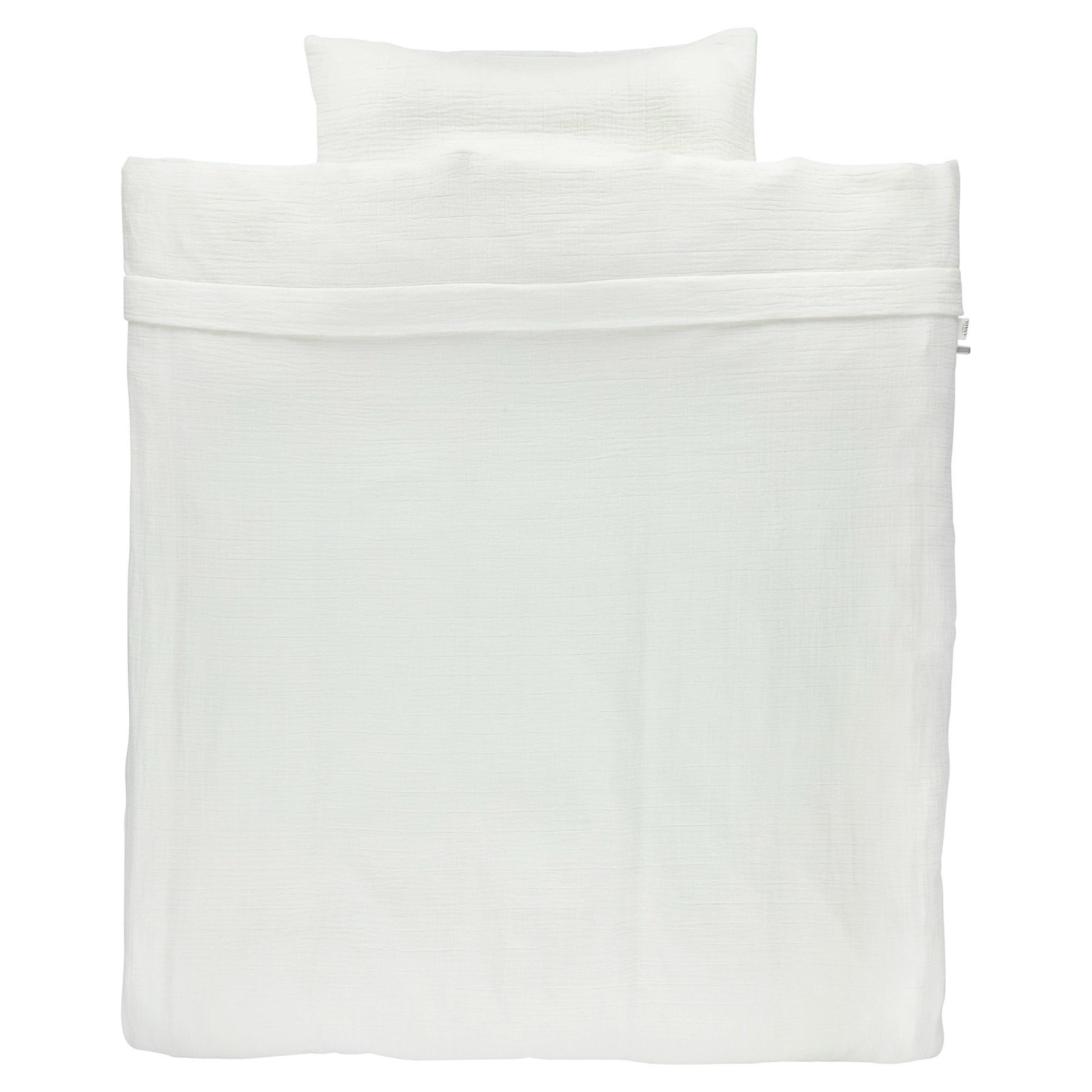 Dekbedovertrek 100x140 bliss white-1