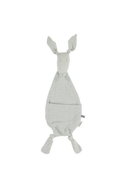 Fopspeendoekje kangoeroe bliss grey