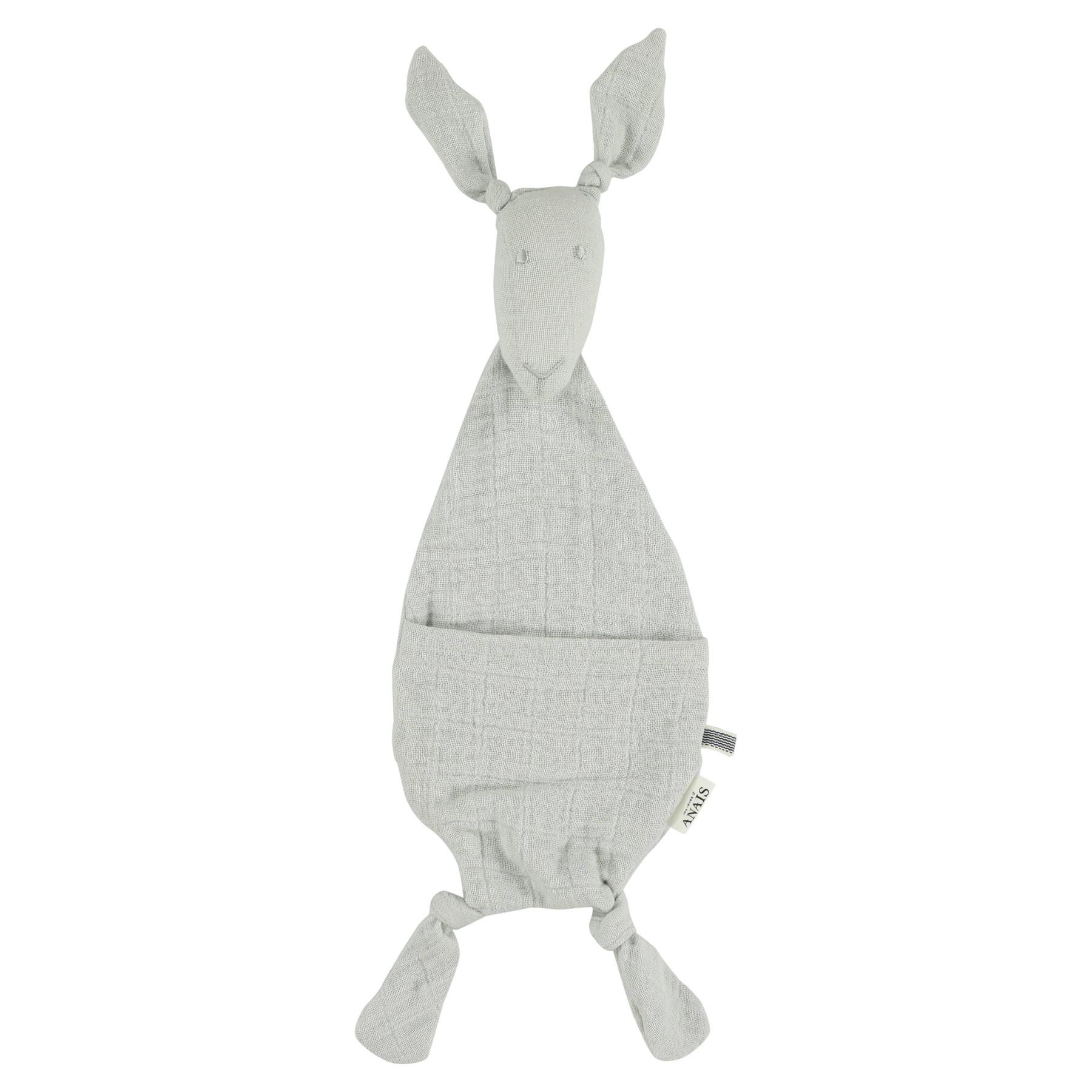 Fopspeendoekje kangoeroe bliss grey-1