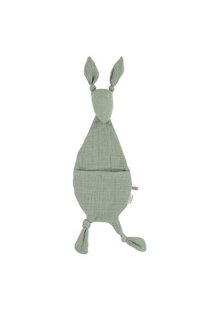 Fopspeendoekje kangoeroe bliss olive