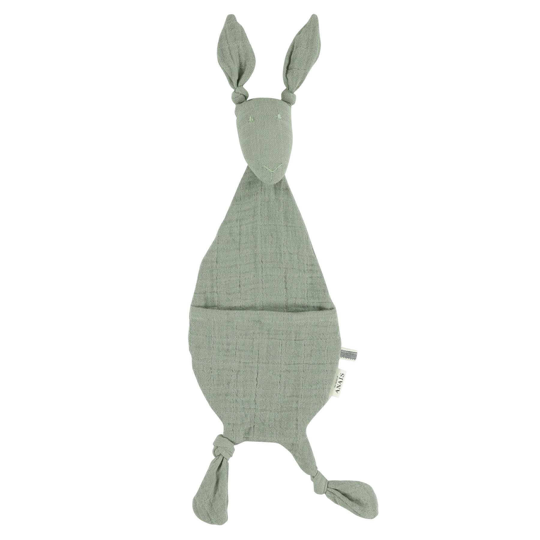 Fopspeendoekje kangoeroe bliss olive-1