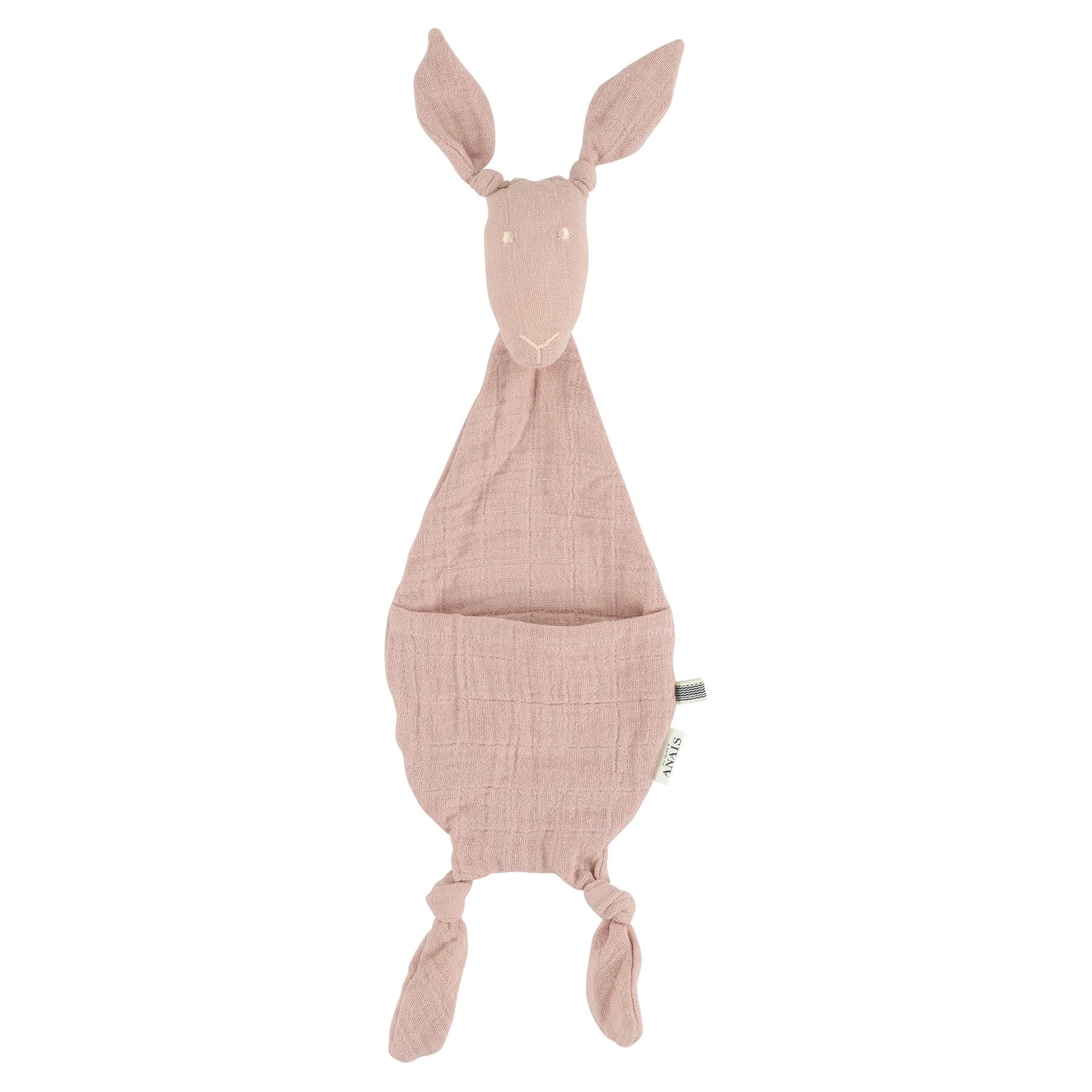 Fopspeendoekje kangoeroe bliss rose-1