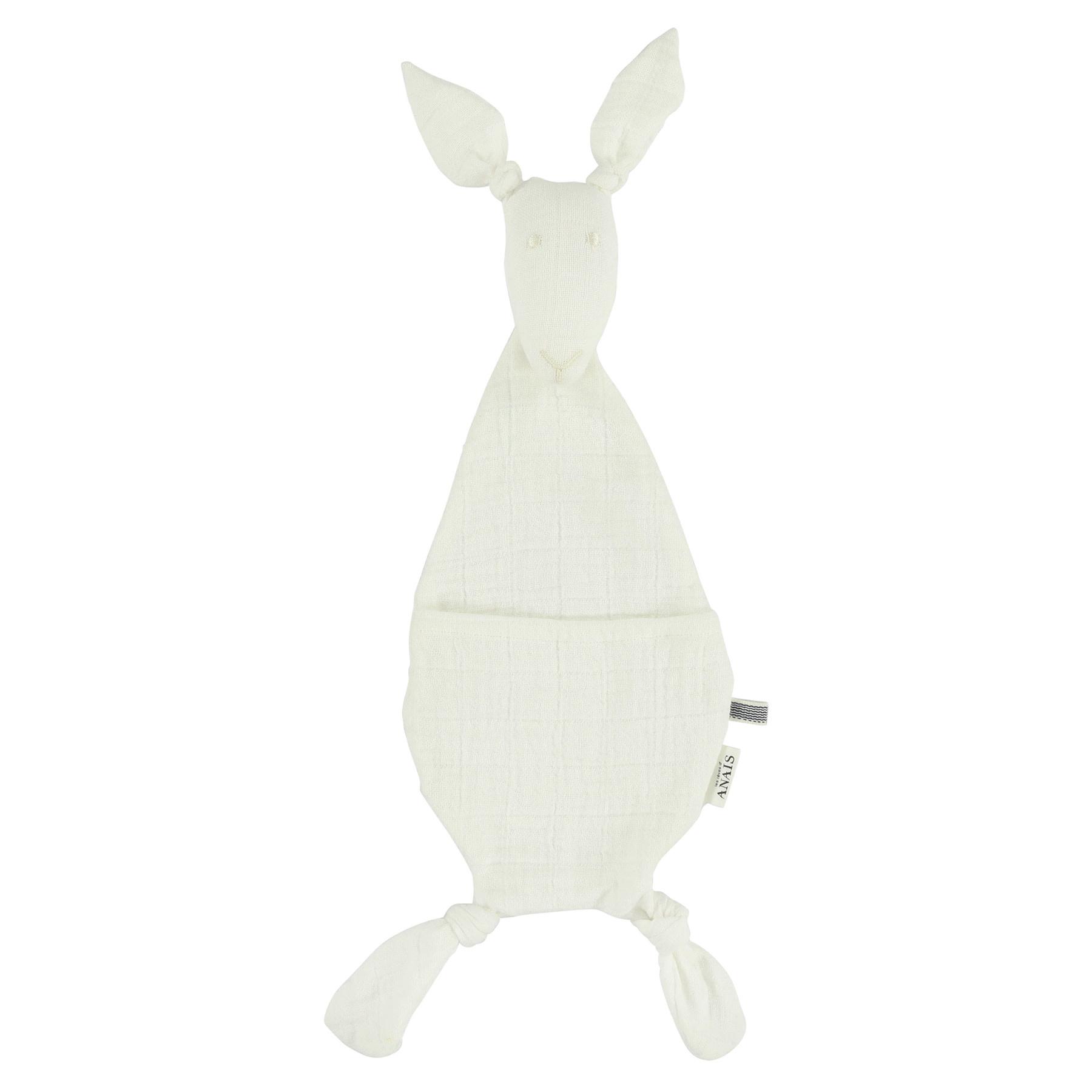 Fopspeendoekje kangoeroe bliss white-1