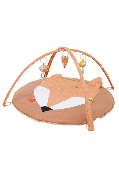 Speelmat met speeltjes mr. fox