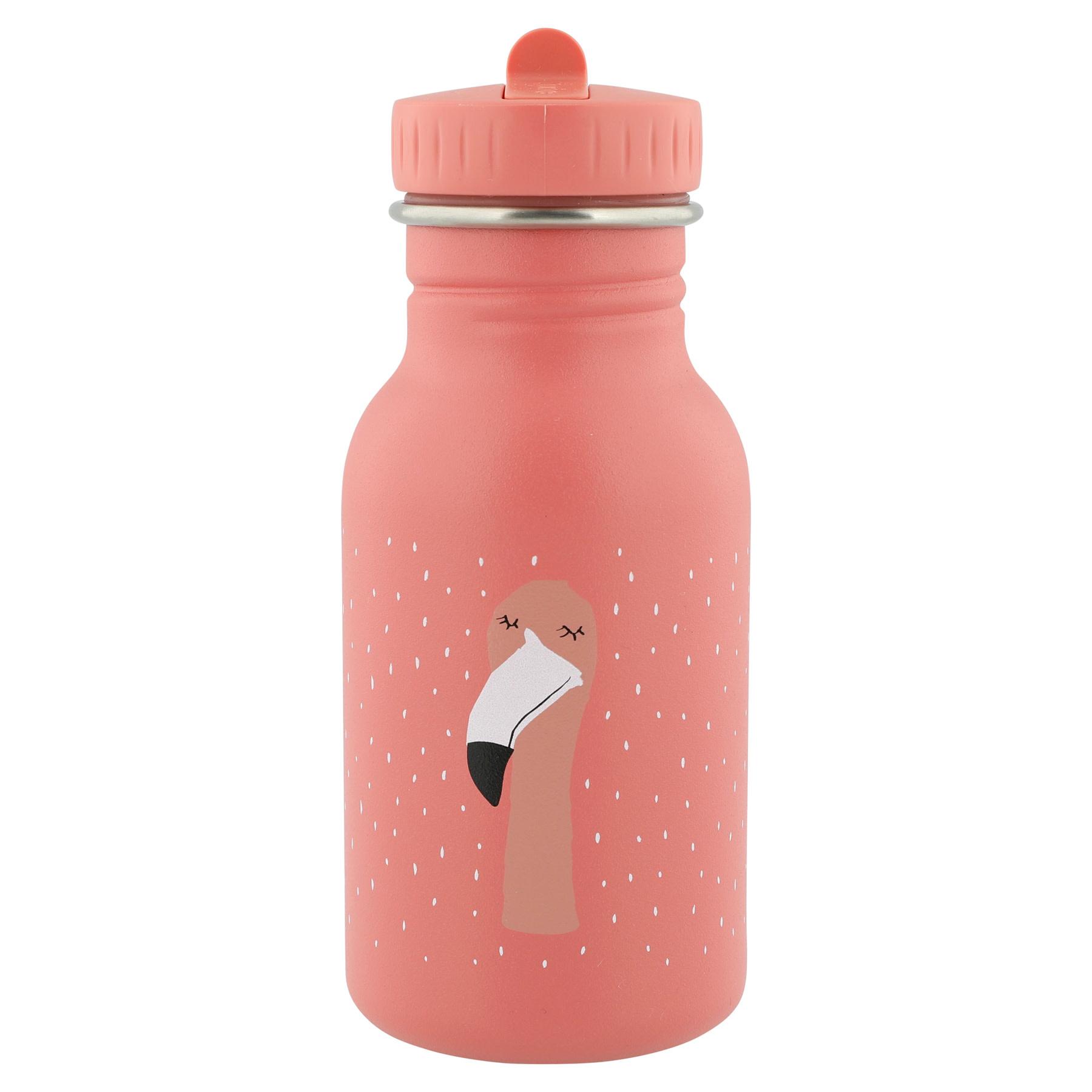 Drinkfles 350ml mrs. flamingo-1
