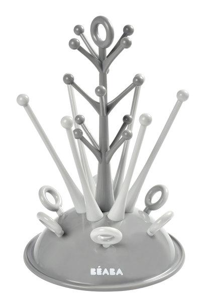 Droogrekje boom voor zuigflessen grey