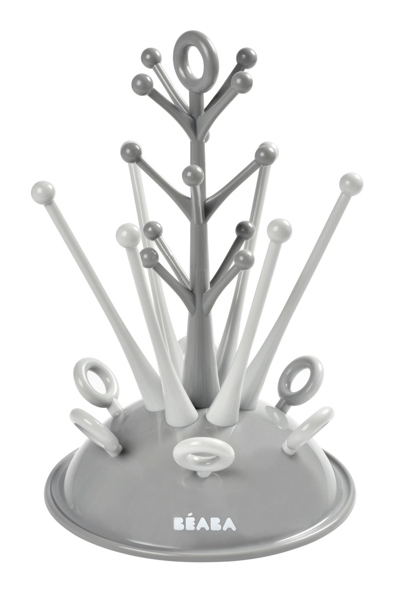 Droogrekje boom voor zuigflessen grey-1