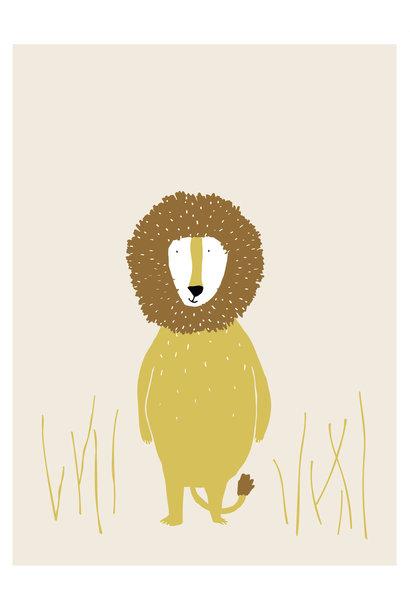 Poster mr. lion