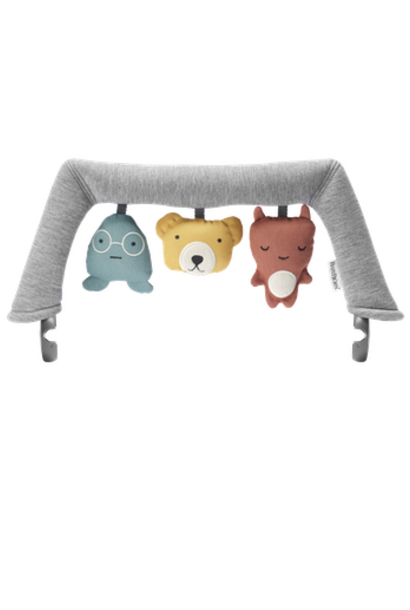 Speelgoed voor wipstoeltje knuffelvriendjes