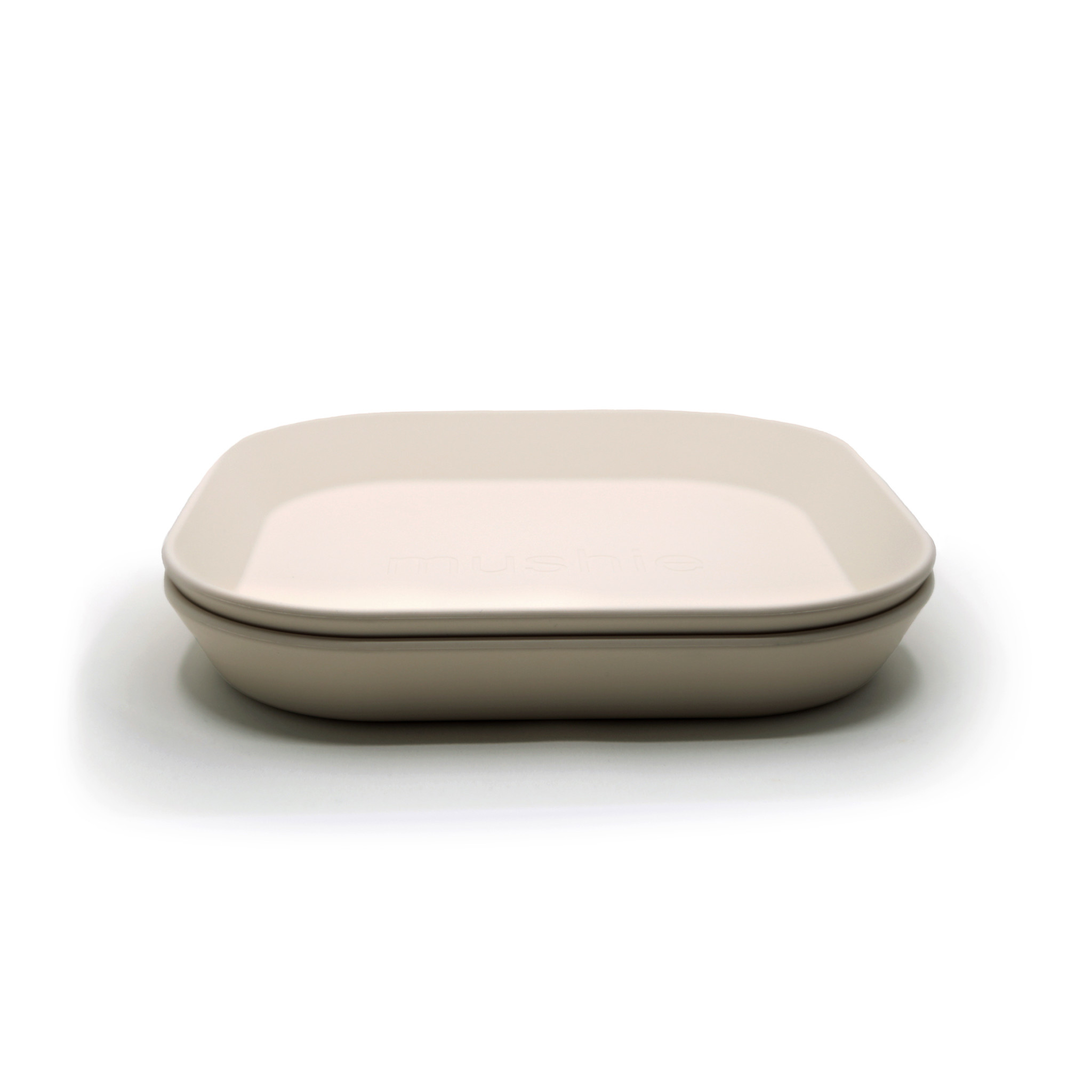 Plates square 2 pack ivory-1