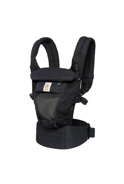 Babydraagzak Adapt Cool Air Mesh onyx black