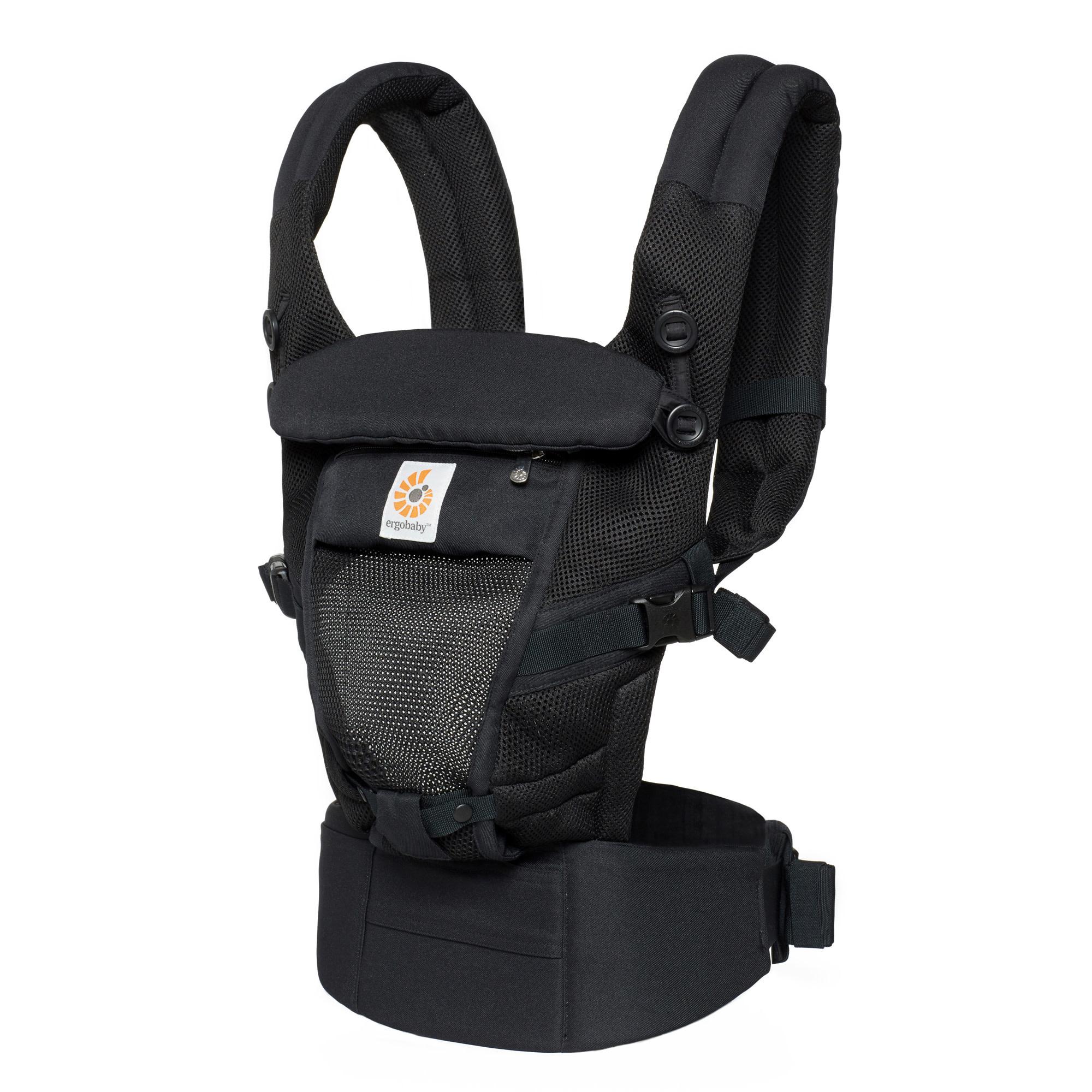 Babydraagzak Adapt Cool Air Mesh onyx black-1
