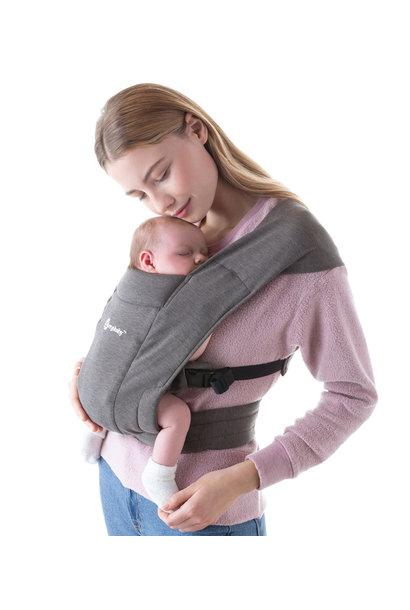 Babydraagzak Embrace heather grey