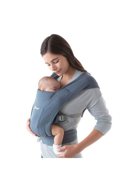 Babydraagzak Embrace oxford blue