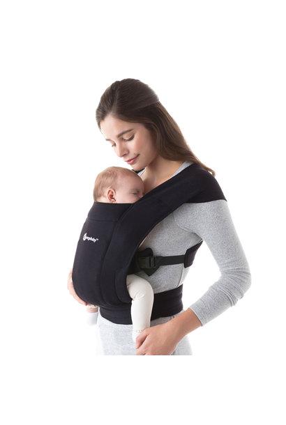 Babydraagzak Embrace pure black