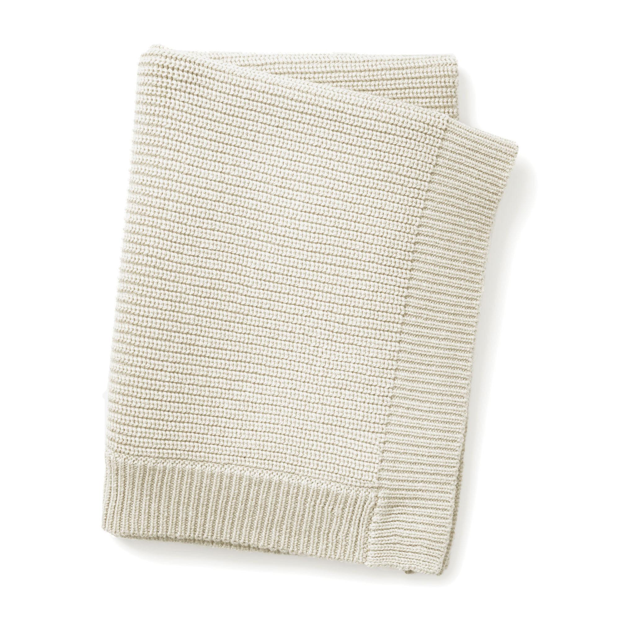 Gebreid deken vanilla white-1