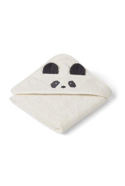 Albert hooded towel panda creme de la creme