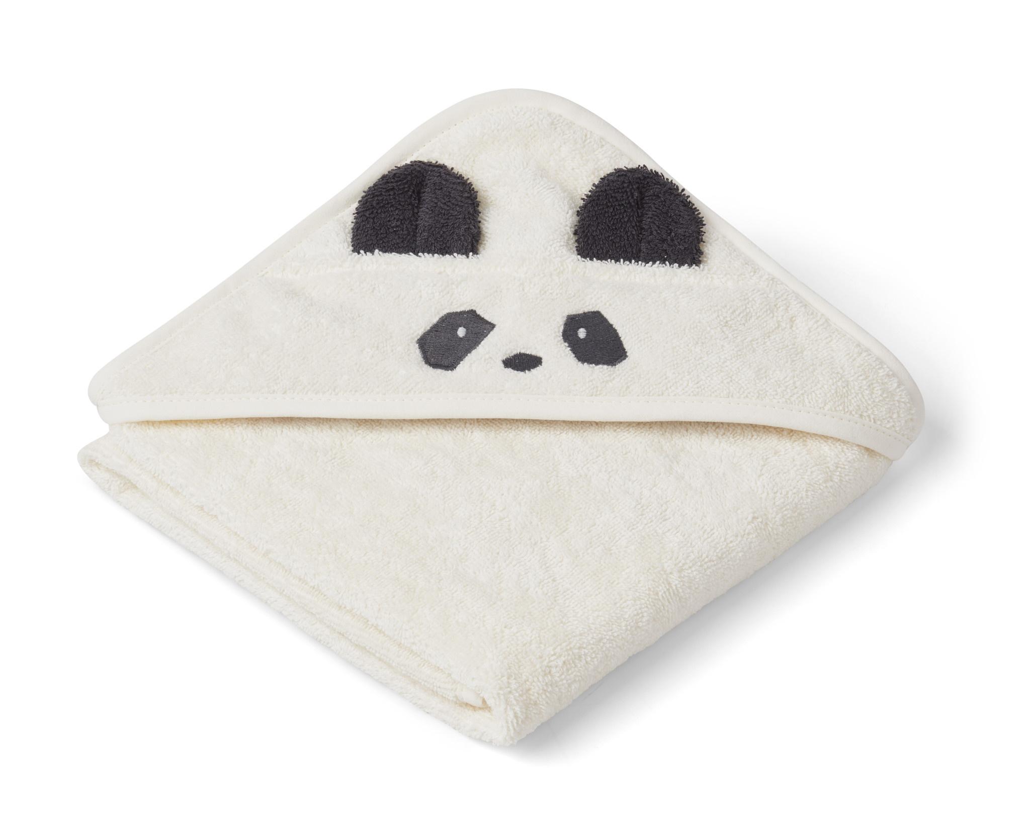 Albert hooded towel panda creme de la creme-1