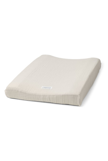 Cliff muslin changing mat cover sandy