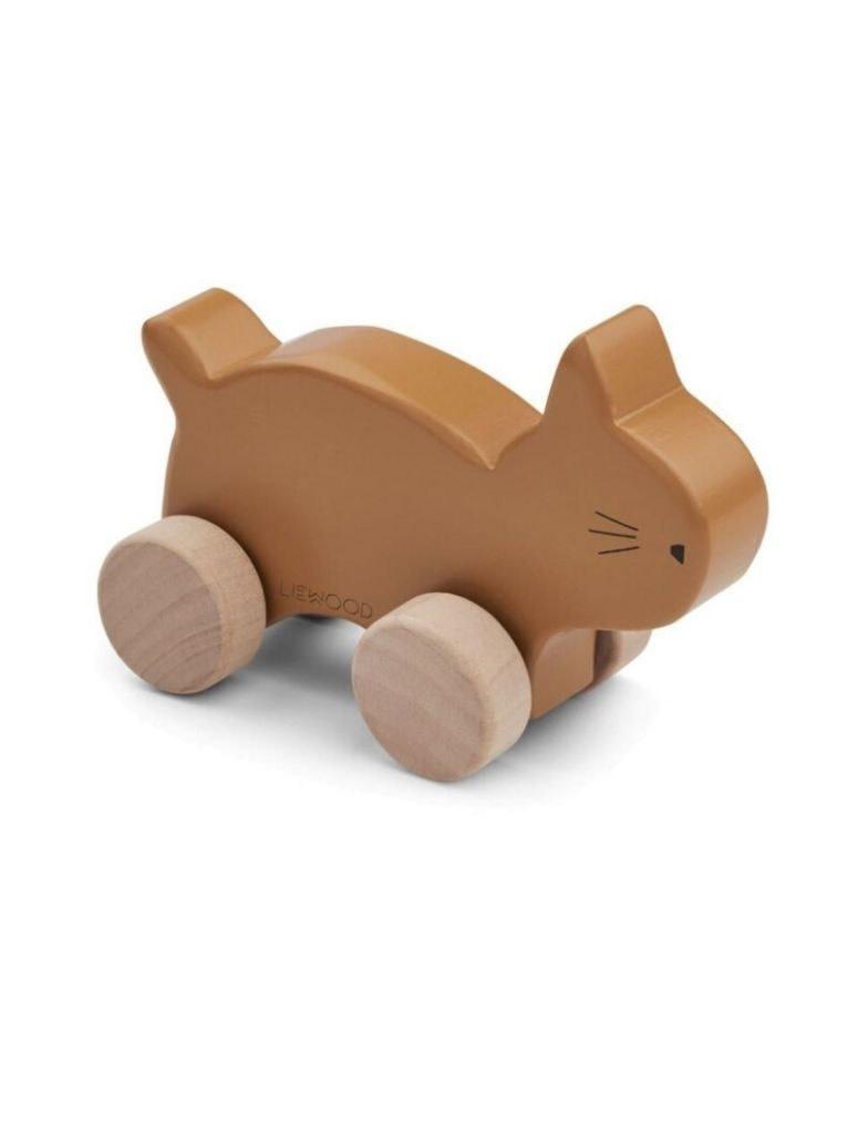 Elena wood toy cat mustard-1
