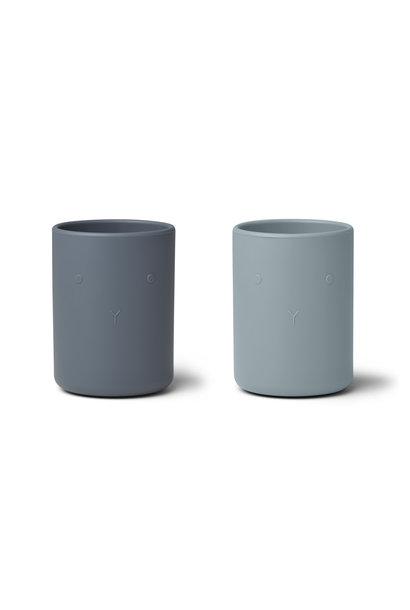 Ethan cup blue mix - 2 pack