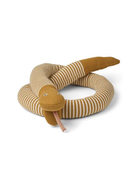 Fillippa knitted snake mustard