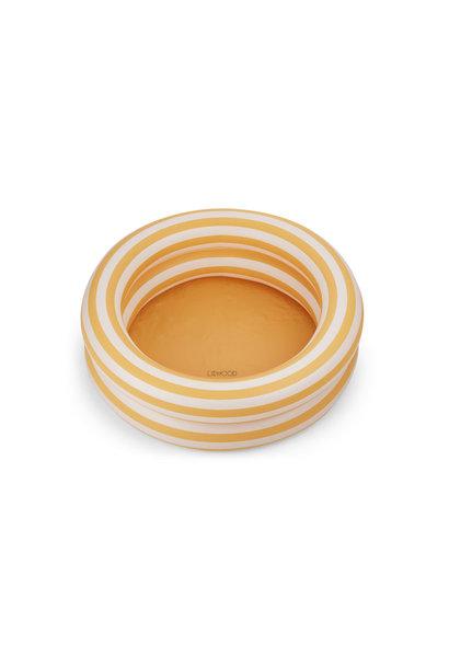 Leonore pool stripe yellow mellow