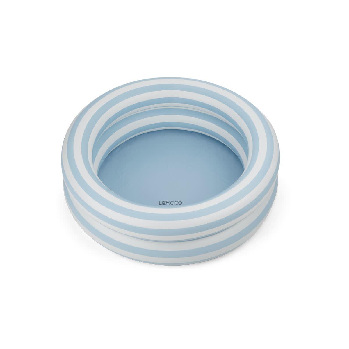 Leonore pool stripe sea blue-1