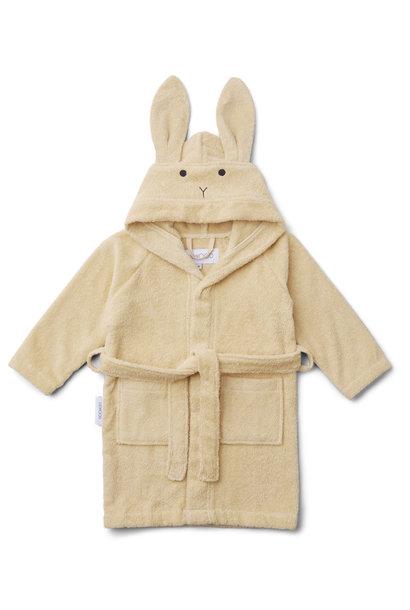 Lily bathrobe rabbit smoothie yellow 1-2Y