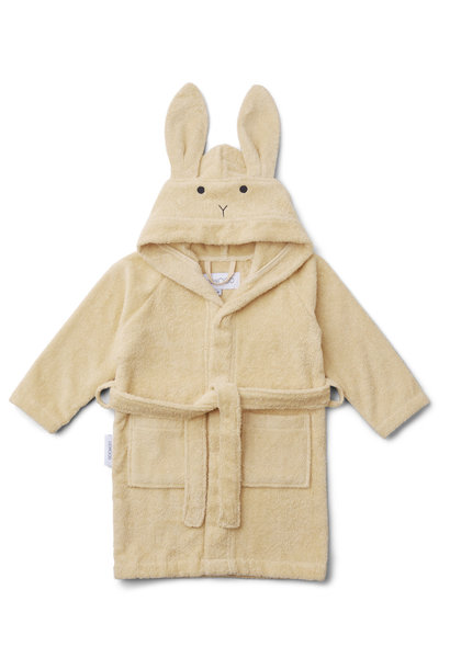 Lily bathrobe rabbit smoothie yellow 5-6Y