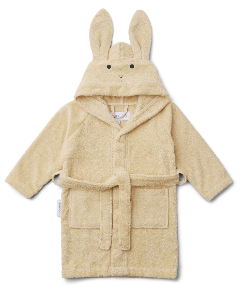 Lily bathrobe rabbit smoothie yellow 5-6Y-1