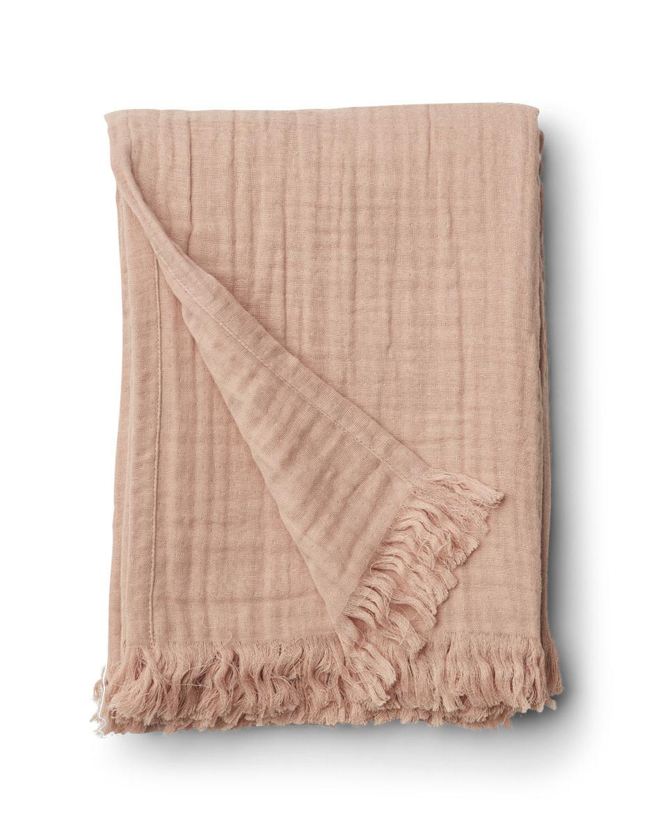 Magda muslin blanket rose-1