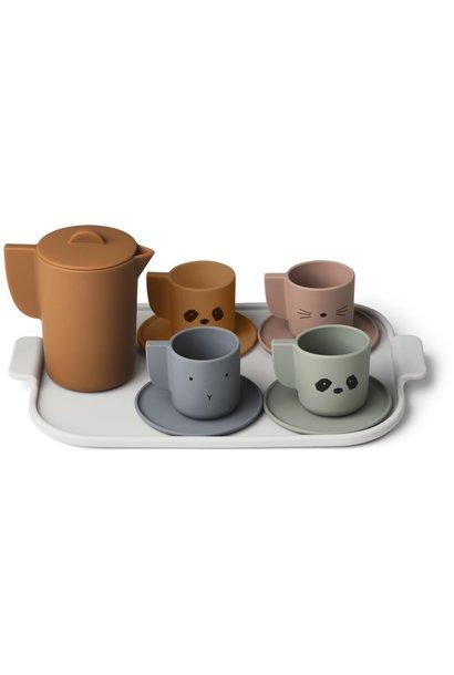 Ophelia tea set mix