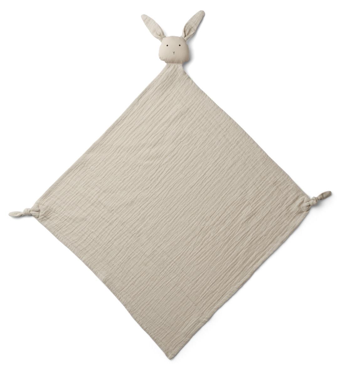 Robbie muslin cloth rabbit sandy-1