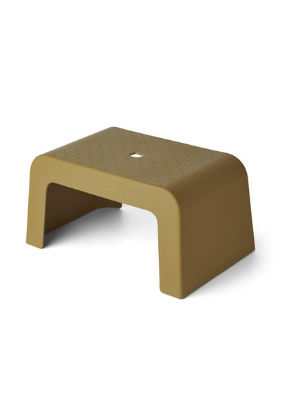 Ulla step stool olive green